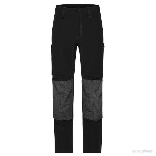 Unisex 4-Way Stretch Workwear Pants James & Nicholson®