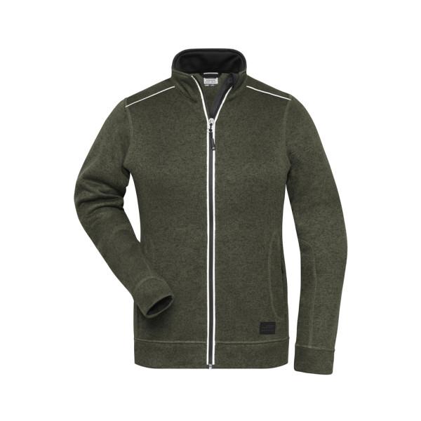 Damen Workwear Melange-Fleece James & Nicholson®