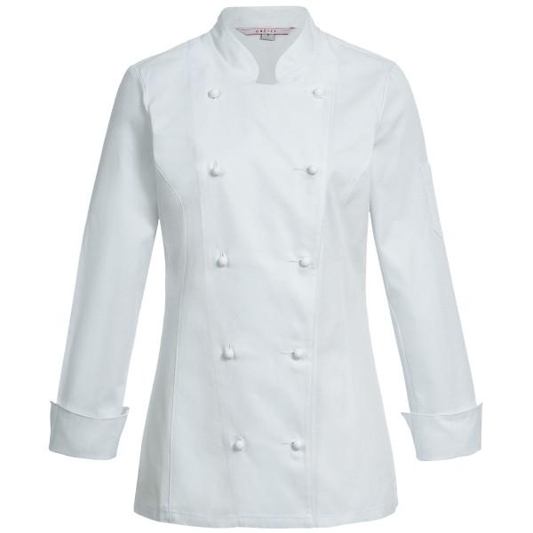 Damen-Kochjacke Weiß RF Cuisine Basic Greiff®