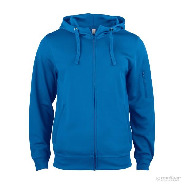 Herren Basic Active Hoody Full Zip Clique®