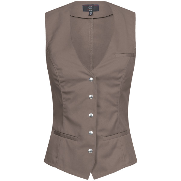 Ladies Service Vest with snap fasteners Greiff®
