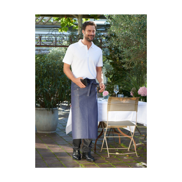 Jeans bistro apron with pocket Oricola CG®