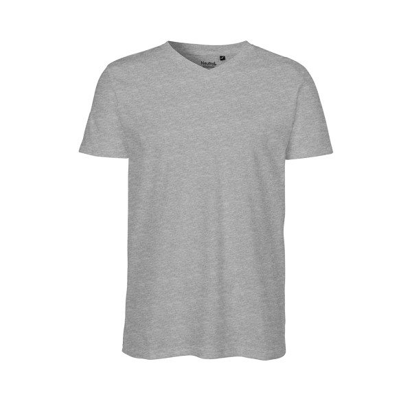 Organic Fairtrade Men`s V-neck T-Shirt Neutral®