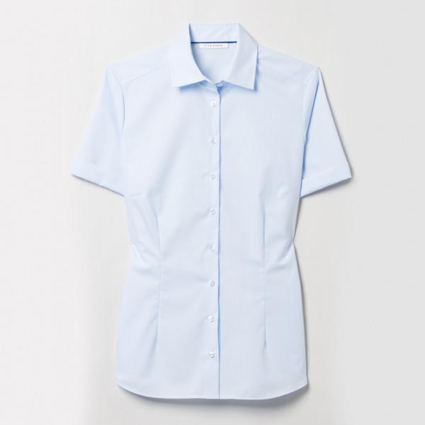 Halbarm Bluse Modern Classic Popeline Eterna®