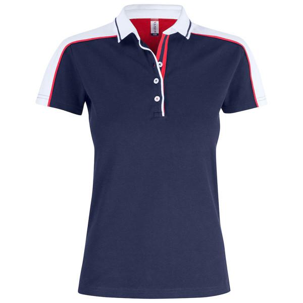Ladies modern polo shirt Pittsford Clique®