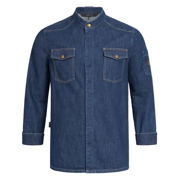 Premium Chef Jacket Blue Denim Greiff®