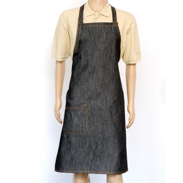 Jeans Latzschürze Black Denim cotton ART®