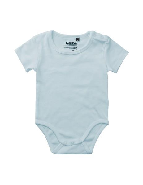 Organic Fairtrade Babies Short Sleeve Bodystocking Neutral®