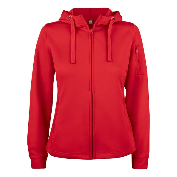 Ladies Basic Active Hoody Full Zip Clique®