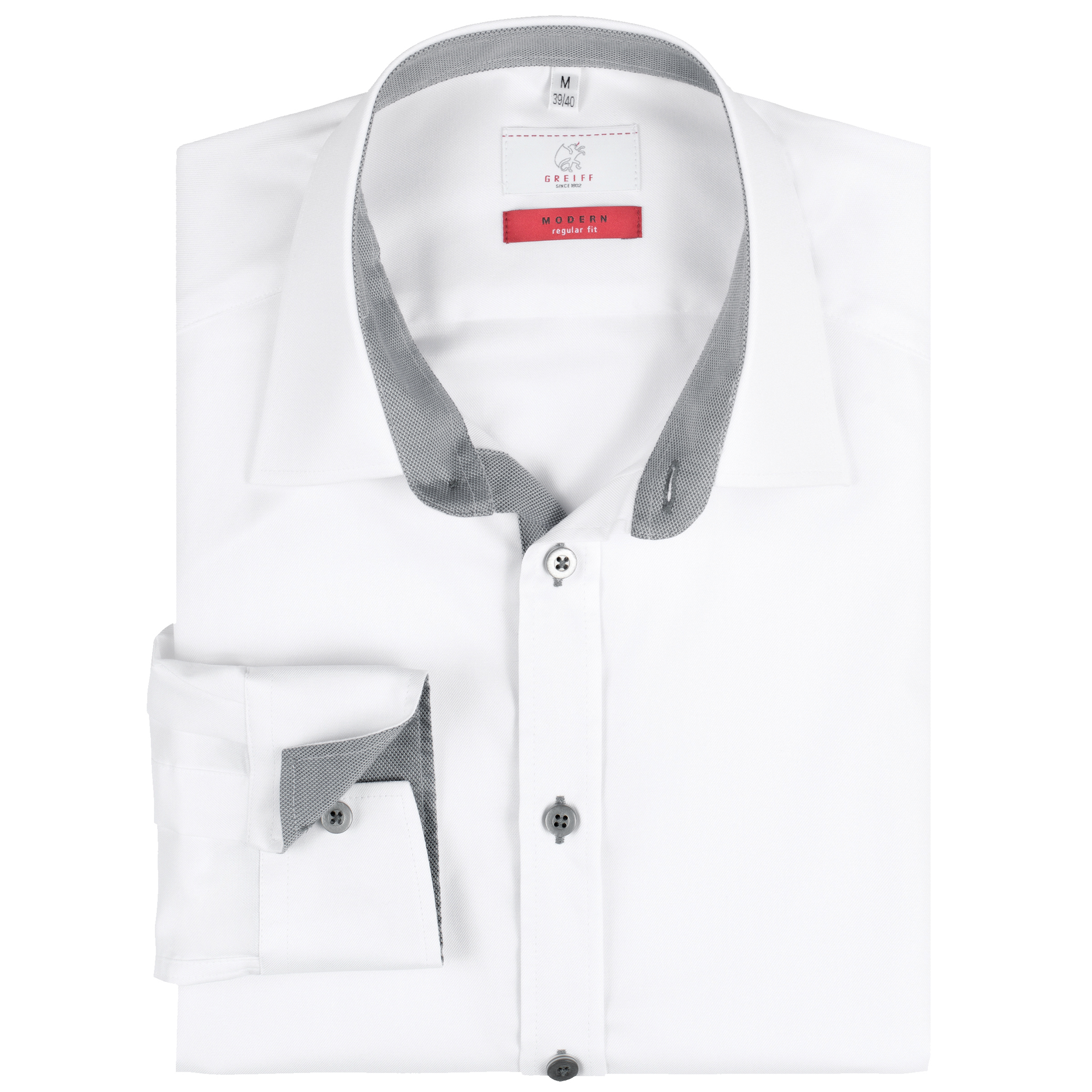Herren Hemd 11 RF Modern 37.5 Greiff®
