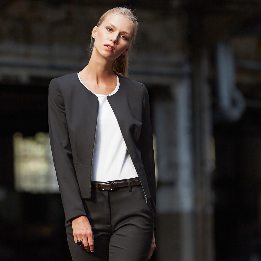 d4dd3c2791afa2 Damen Kurzblazer Modern Slim Fit Greiff® | bedrucken, besticken, bedrucken  lassen, besticken