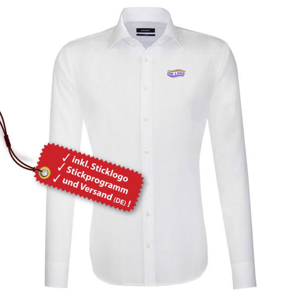 Tailored Fit shirt incl. embroidered logo Seidensticker®.