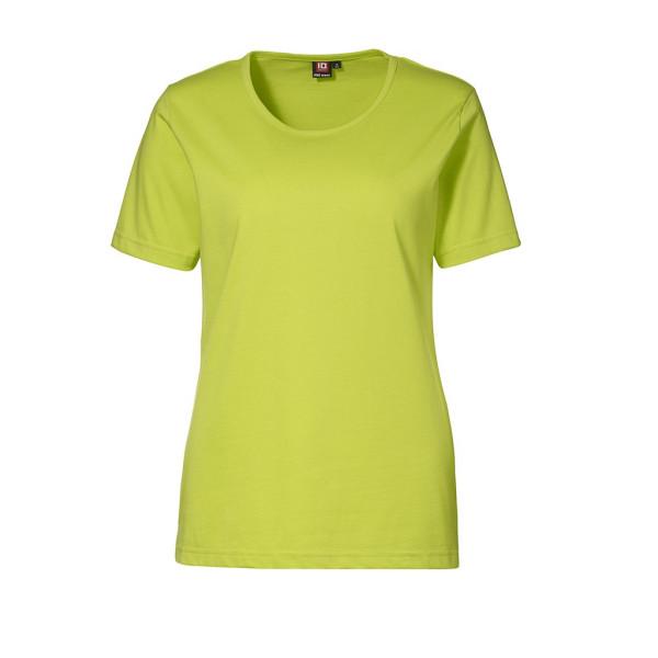 Pro Wear Damen Kurzarm T-Shirt lime bedrucken lassen